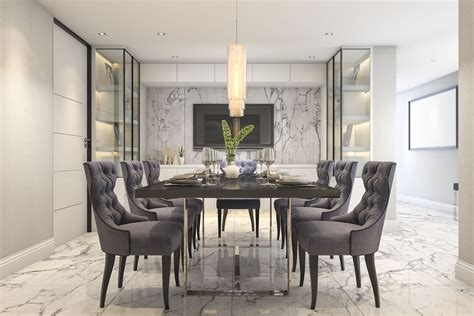 70 Ideas For Dining Rooms by 25 Gray Dining Room Design Ideas