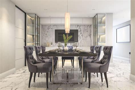 Black Dining Room Set And Interior Design Ideas Photos by 25 Gray Dining Room Design Ideas