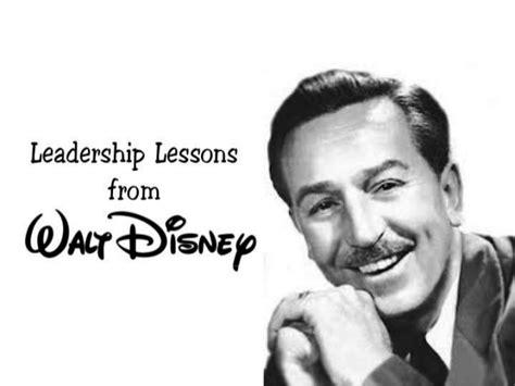 leadership lessons  walt disney arranged  teamtri