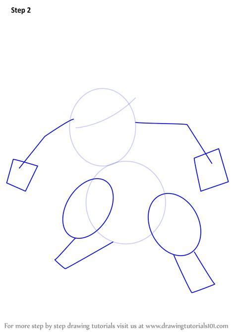 Learn How To Draw Feraligatr From Pokemon (pokemon) Step