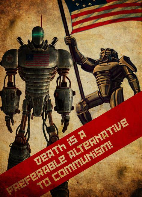 Fallout 3 Enclave Propaganda Poster Image Mod Db