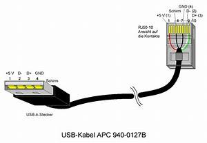 Apc Usb To Rj45 Cable Pinout