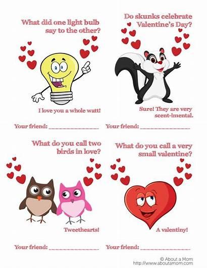 Valentine Cards Printable Valentines Jokes Funny Puns