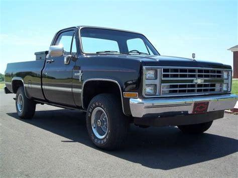 Chevy Half Ton Diesel by Sell Used 1985 Chevrolet 4x4 Silverado Half Ton 6 2l