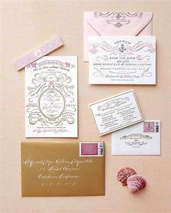 Wedding invitation inspiration images on your wedding for Wedding invitation kits martha stewart
