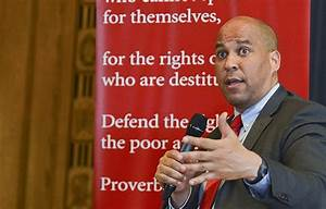 Cory Booker takes stage to rail against Jeff Sessions ...