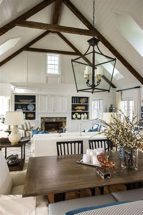 charming living room designs  vaulted ceiling