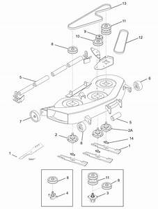 Huskee Slt 4600 Drive Belt Diagram