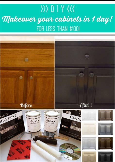 kitchen cabinet makeover kit the 25 best nuvo cabinet paint ideas on 5579