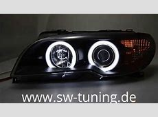 Sold out! SWCCFL Angel Eye Scheinwerfer BMW E46 LCI Coupe