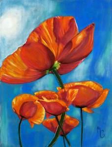 Peindre Au Pastel : coquelicots pastels secs sur papier velours mes pastels pinterest pastel fleur pastel et ~ Melissatoandfro.com Idées de Décoration