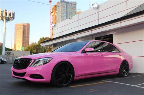 Mercedes-benz S550 Pink