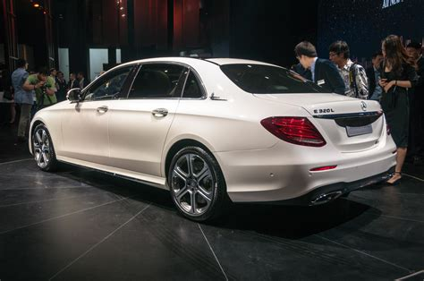 We analyze millions of used cars daily. Beijing 2016: Mercedes-Benz E-Class LWB - GTspirit