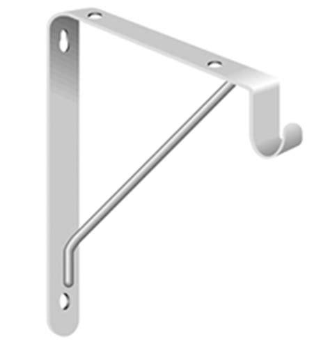 knape vogt shelf rod support heavy duty knape