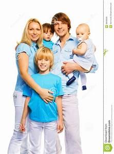 Familie Mit Drei Kindern : sch ne familie mit 3 kindern stockfoto bild 39640926 ~ A.2002-acura-tl-radio.info Haus und Dekorationen