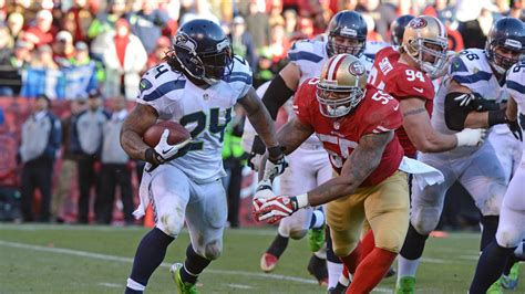 nfc championship ers  seahawks guide game time tv