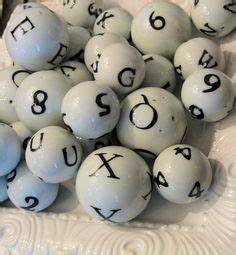 1000 images about black white on pinterest black and With white ceramic balls with letters