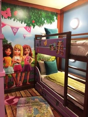 legoland california hotel debuts friends theme rooms