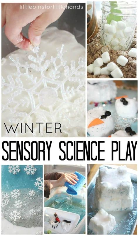 kids winter activities  science  sensory play