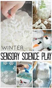 winter activities for science and sensory play