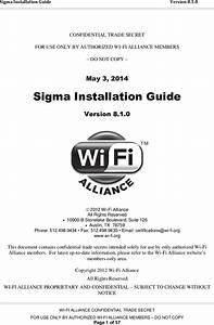 Sigma Installation Guide V8 1 0