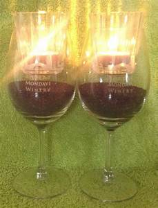 Fill, Wine, Glass, 1, 4, Full, With, Candle, Sand, Insert, Glass, Candle, Holder, With, Votive, The