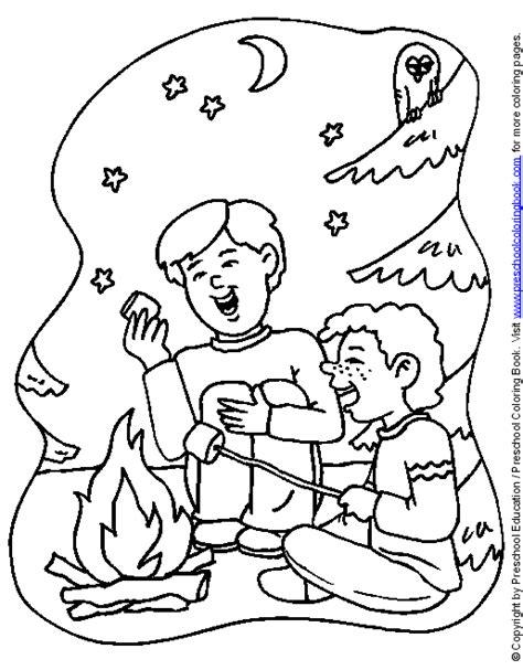 www preschoolcoloringbook camping coloring page 673 | cpcamp13