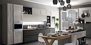 Cucine Moderne Cucine Moderne Lineari 4 Metri Ispirazioni Design dell'architettura Moderna