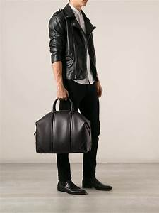 givenchy luggage bag in black for lyst