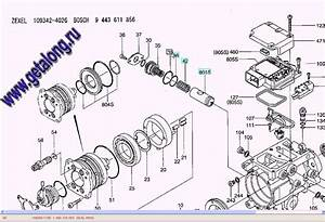 109342-4026  9443611856 Fuel Injection Pump Zexel