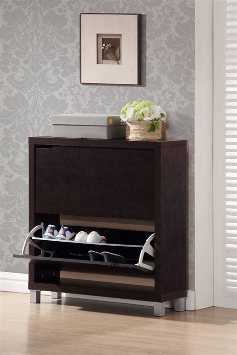 simms white modern shoe cabinet see white