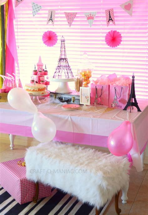 themed birthday craft o maniac