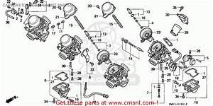 Honda Cbr900rr Fire Blade 1995 England Carburetor