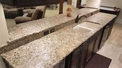 beige butterfly granite with chiseled edge 6 reflections
