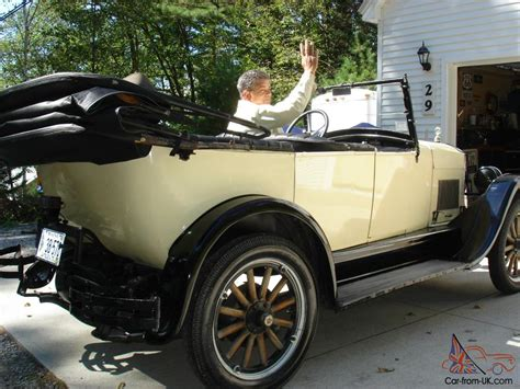 1926 Star Touring Durant Motors Antique Car, Not Ford Chevy