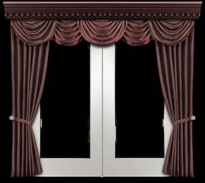Second life marketplace window panel with silk curtain for Window curtains texture