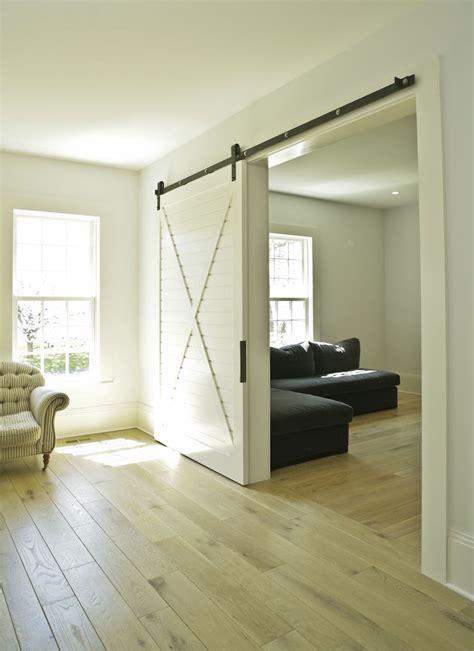 Hanging Sliding Door Bedroom Eclectic With Barn Door Beige
