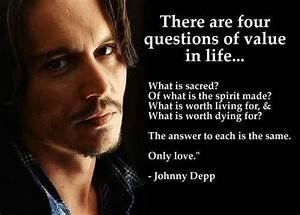 Don Juan Demarco | My Lovely Movies Quotes | Johnny depp ...