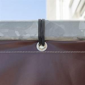 Segeltuch Mit ösen Auf Maß : balkonumrandung als terrassen sichtschutz mit balkon bespannung auf ma ~ Orissabook.com Haus und Dekorationen