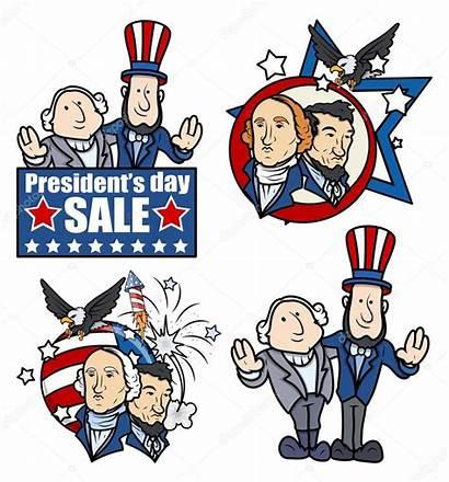 Lincoln Washington Presidents Clip Cartoons President George