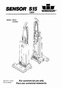 Sensor S15 Manuals