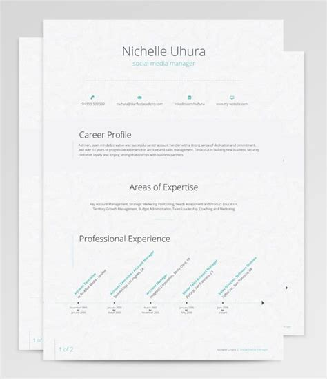 Resume Features by The Antlia Resume Features A Unified Composition Described