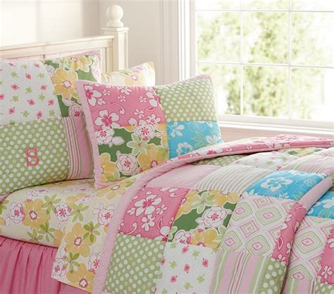 Pottery Barn Surf Bedding by Pottery Barn Key West Patchwork Quilt Pink