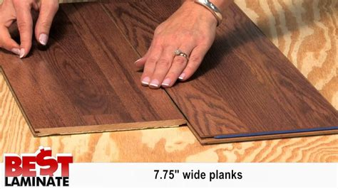 pergo red oak mm laminate flooirng  pad attached