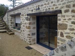 Fenetre Alu Gris : fenetre alu maison ancienne fen tre alu maison en pierre ~ Melissatoandfro.com Idées de Décoration