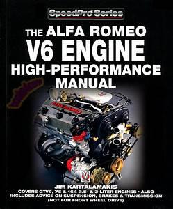 Alfa Romeo V6 Manual Book Engine Performance Shop 164 Gtv6