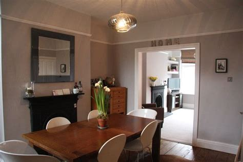 grey walls main colour is eglise grey by crown the palais range above the picture rail