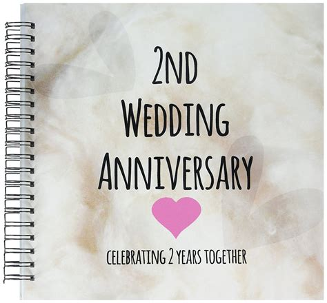 2nd wedding anniversary 3drose db 154429 2 2nd wedding anniversary gift cotton celebrating 2 years together second