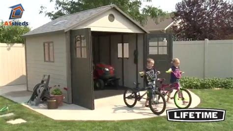 Lifetime 15x8 Shed Canada by Lifetime 11x11 Shed