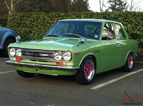 Datsun 510 Bluebird For Sale by 1971 Datsun 510 2dr Fj20 Sss Bluebird
